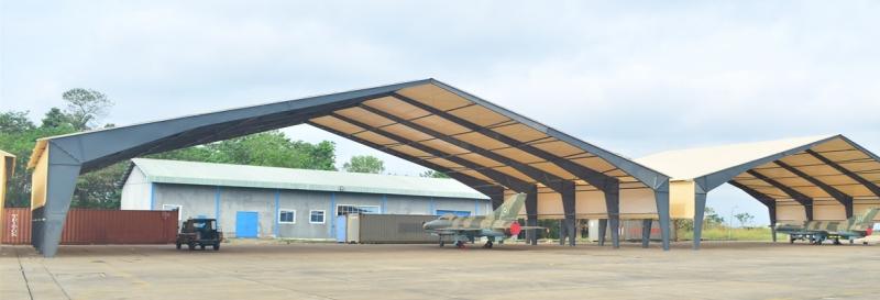 Las paredes terminales abiertas ofrecen mucho espacio para maniobrar