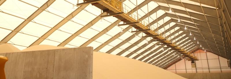 Más de 50.000 toneladas de capacidad para arena frac