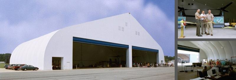 fabric hangar military planes aircraft megadoor louvers