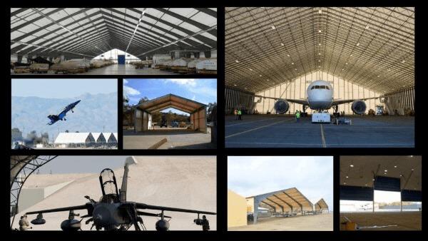 Las 5 mejores razones para elegir un Hangar de Aviación de Estructura Metalica con Cubierta de Membrana Tensada