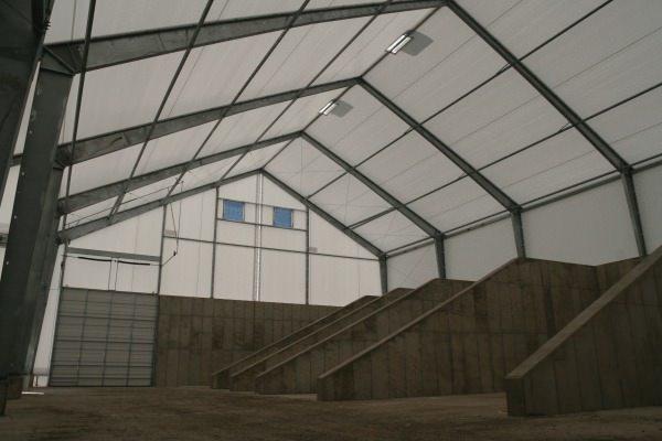La ventilación en los edificios de almacenaje de materias primas