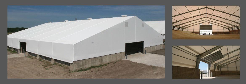 Almacenaje de Arena Frac, Sal y Granos