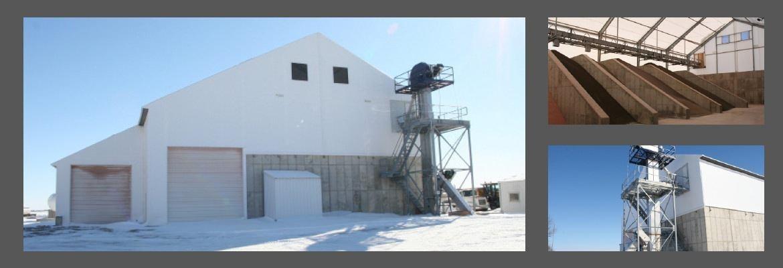 Almacenaje de fertilizante Comercial