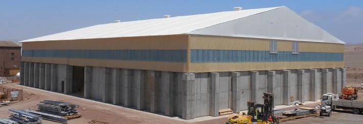 Rockwood Lithium incorpora estructura de Legacy Building Solutions en instalaciones en Chile