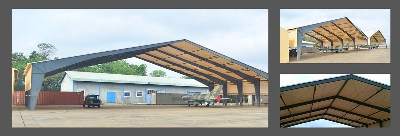 Hangares de Aviación